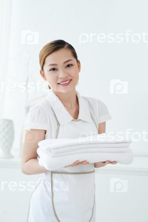 Чистые полотенца