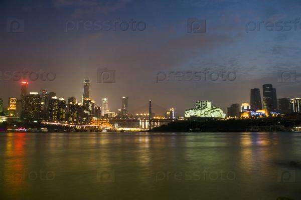 Чунцин ночью