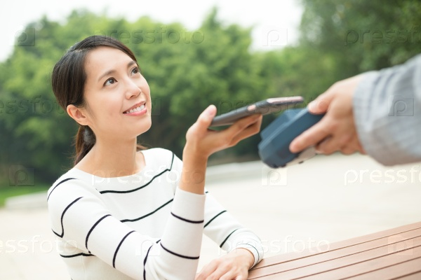 Оплата при помощи телефона