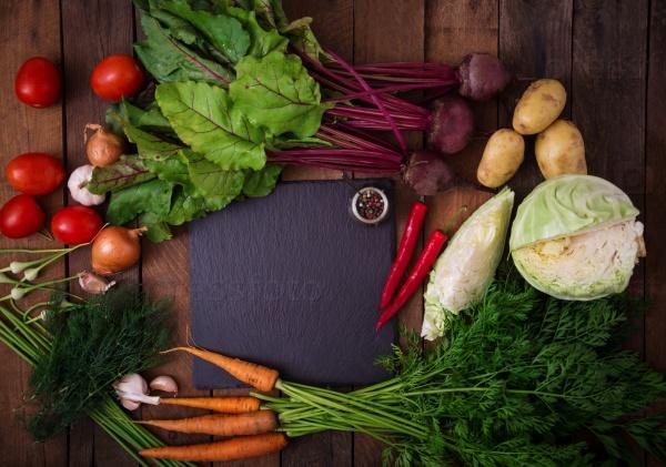 Овощи для приготовления борща