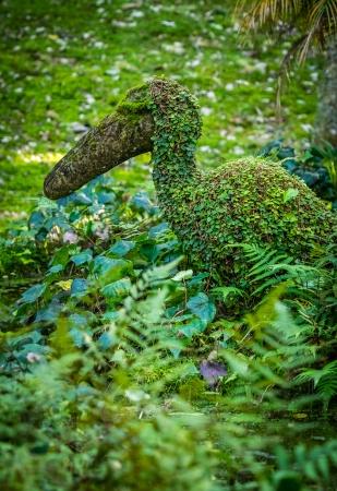 Скульптура в саду