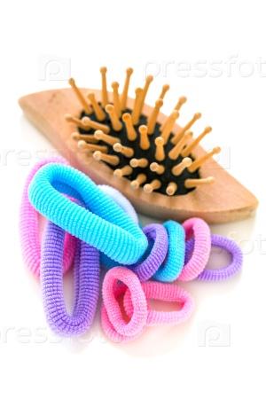 Цветные резинки для волос