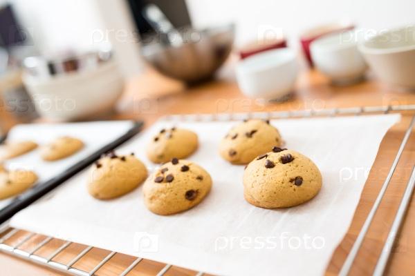 Фото шоколадное печенье 25