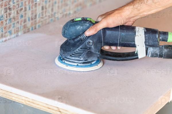 Полировка столешницы искусственного камня в домашних условиях