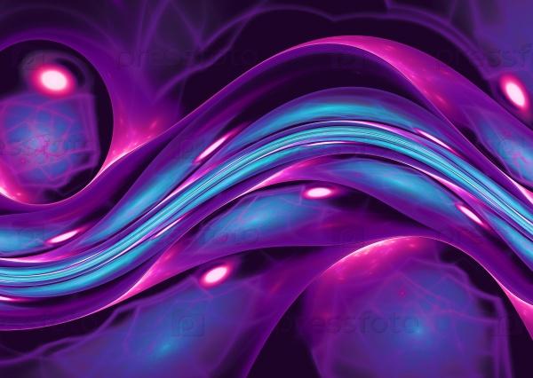 Блестящий фон фиолетовый