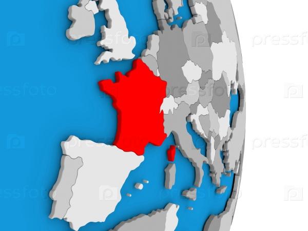 Франция на глобусе прощения