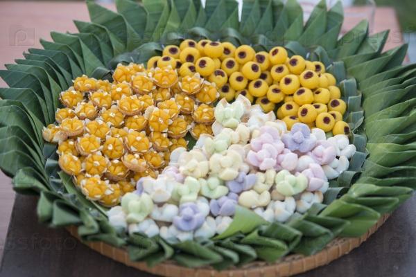 Тропический десерт