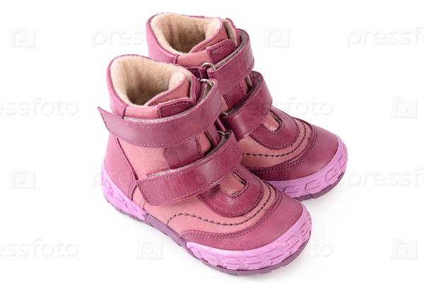 Осенние ботинки детские минимен
