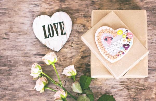Печенье-сердце на День святого Валентина