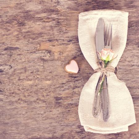 Праздничная сервировка на День святого Валентина