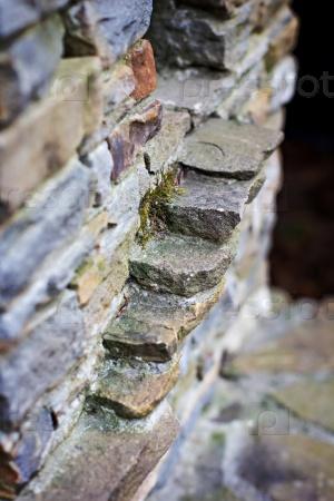 Миниатюрная каменная лестница