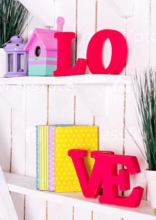 Буквы «Любовь»