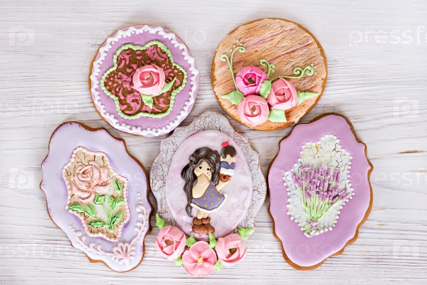 Печенье-цветы