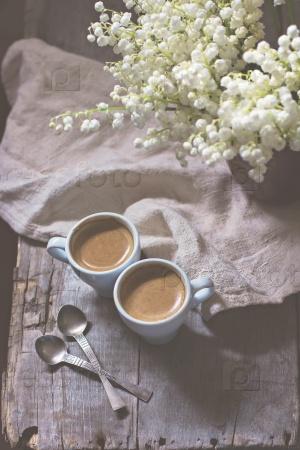 Кофе и ландыши