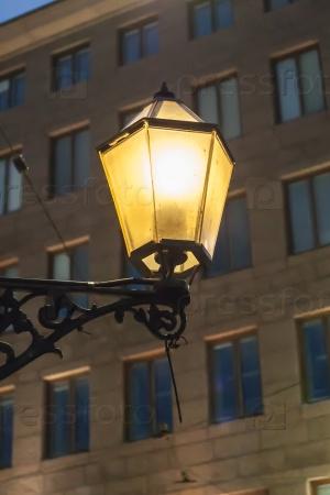 Фонарь в Хельсинки