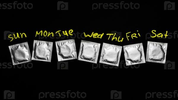 Презервативы - семь дней недели