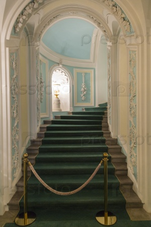 Интерьер дворца Петра, Москва, Россия