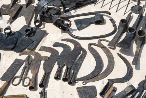 Ржавые инструменты