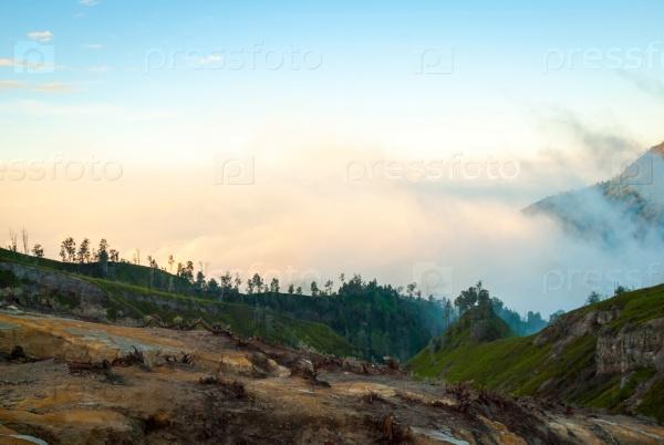 Вулканический ландшафт