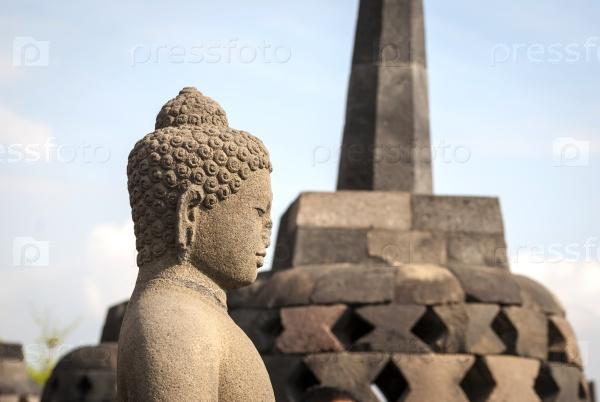 Буддийский храм Боробудур, Индонезия