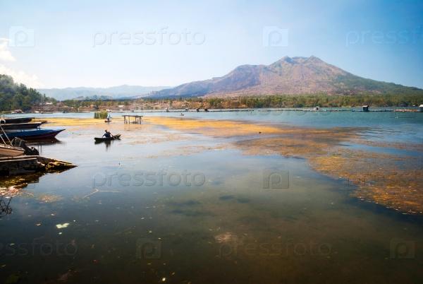 Озеро Батур, Бали, Индонезия
