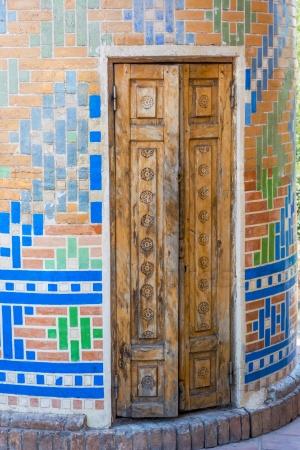 Минарет Хазрат Хизр мечети, Самарканд, Узбекистан