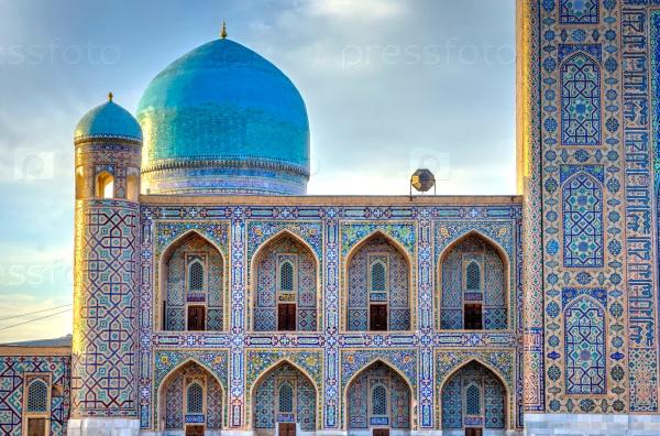 Тилля Кари Медресе, Регистан, Самарканд