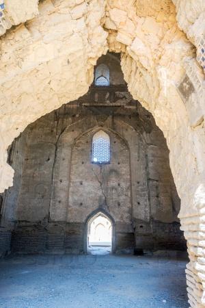 Интерьер мечети Биби-Ханым, Самарканд, Узбекистан