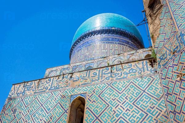 Биби-Ханум деталь, Самарканд, Узбекистан