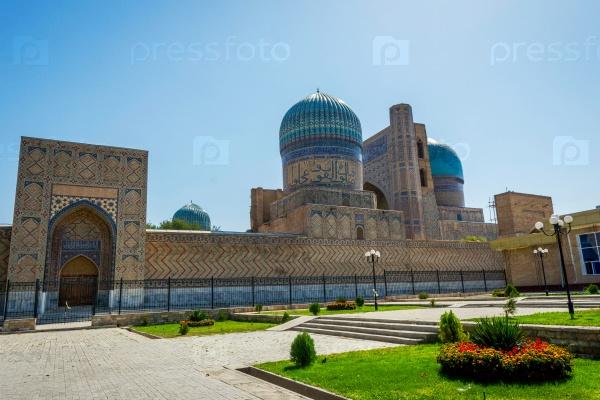 Биби Ханум Мавзолей, Самарканд, Узбекистан