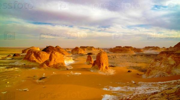 Белая пустыня, Сахара, Египет