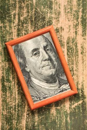 100 доллара США портрет