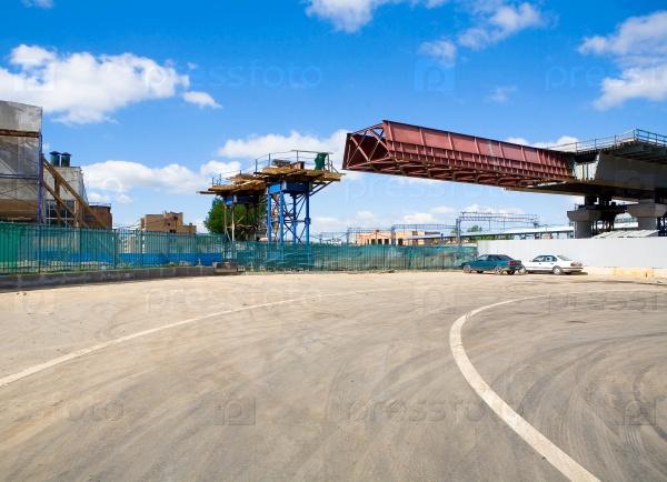 Строительство путепровода через центр Москвы