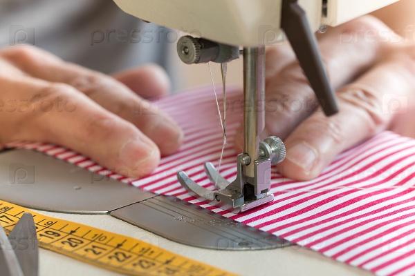 Шитье на швейной машине