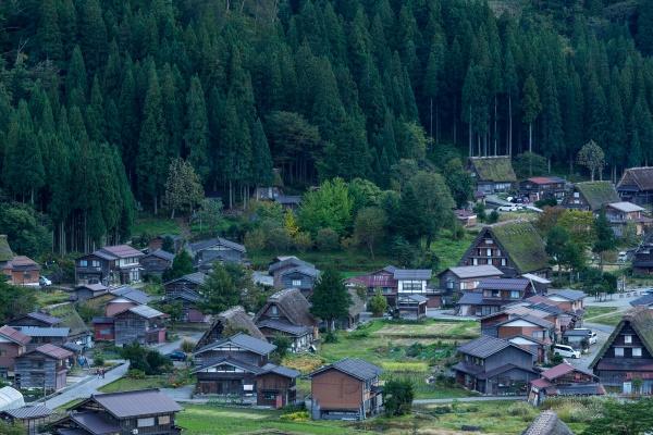 Сиракава-го в Японии
