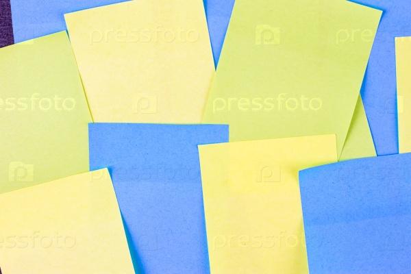 Набор разноцветных наклеек