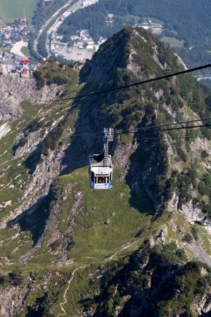 Канатная дорога в Альпах