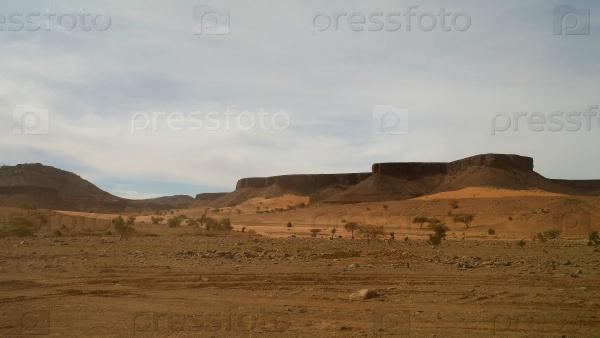 Скалы и ущелья, Мавритании