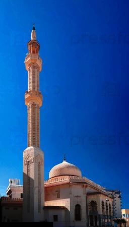 Внешний вид на мечеть Мерса Матрух развития в Египте