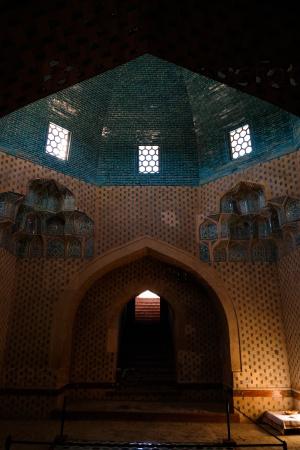 Сулу мавзолей в Миздакхане в Ходжейли, Каракалпакстан, УЗБЕКИСТАН