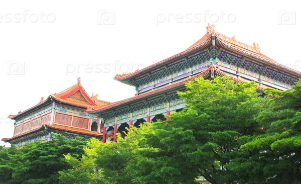 Традиционный китайский храм, Таиланд