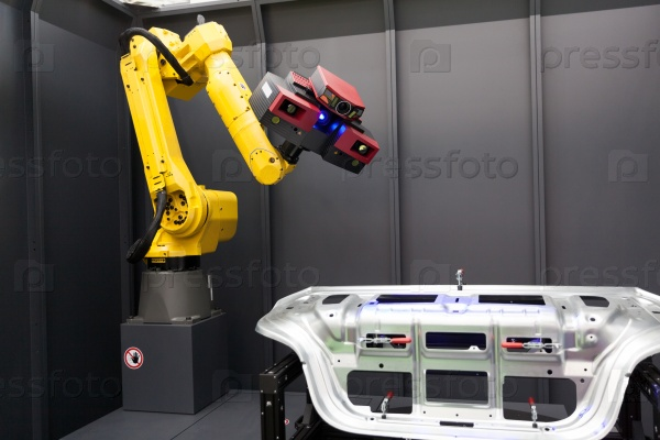 Роботизированная рука с 3D-сканером