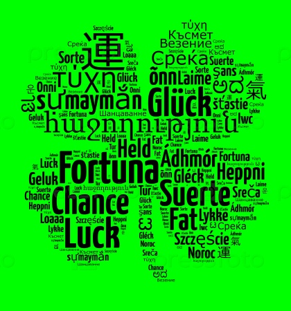 Удача на разных языках