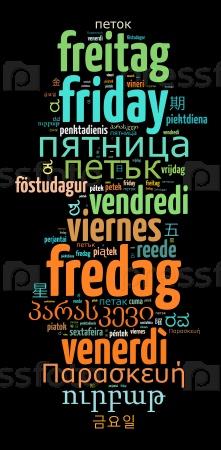 Пятница на разных языках