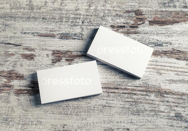 Белые визитные карточки
