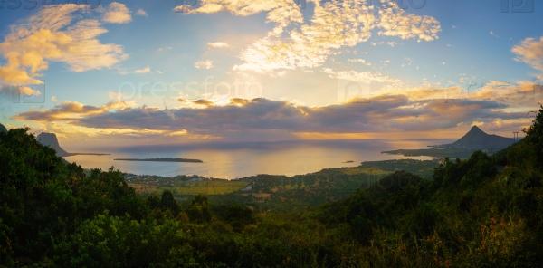 Маврикий на закате