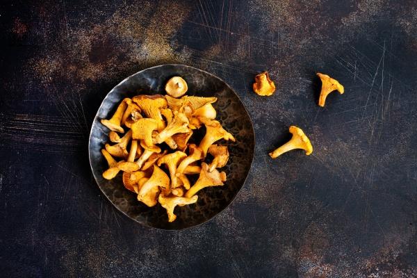 Сырые грибы