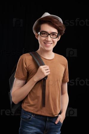 Стильный молодой человек