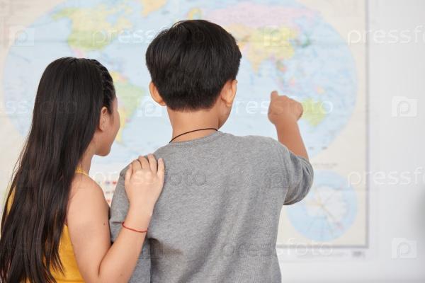 Дети и карта