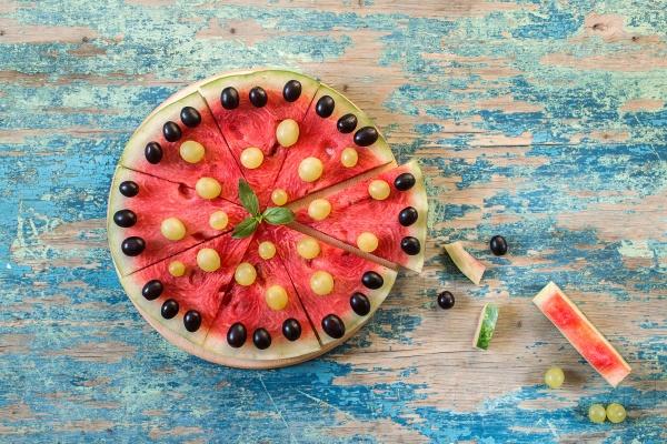 Кусочки арбуза